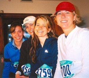Another Half Marathon with Friends.  I'm second from right.
