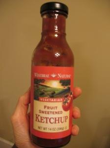 Westbrae Natural Fruit Sweetened Ketchup