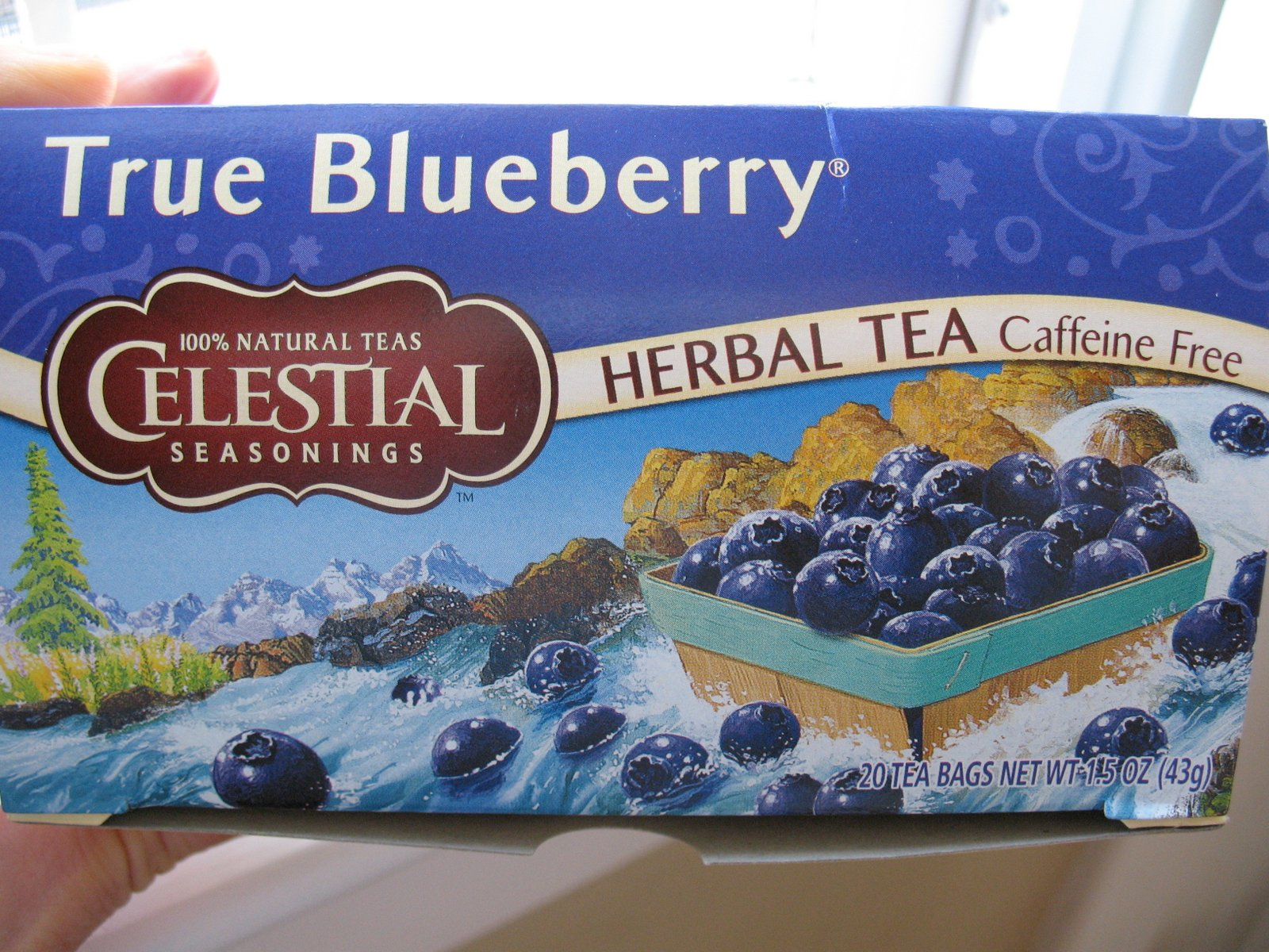I've tried them all, and I always come back to Celestial Seasonings Blueberry