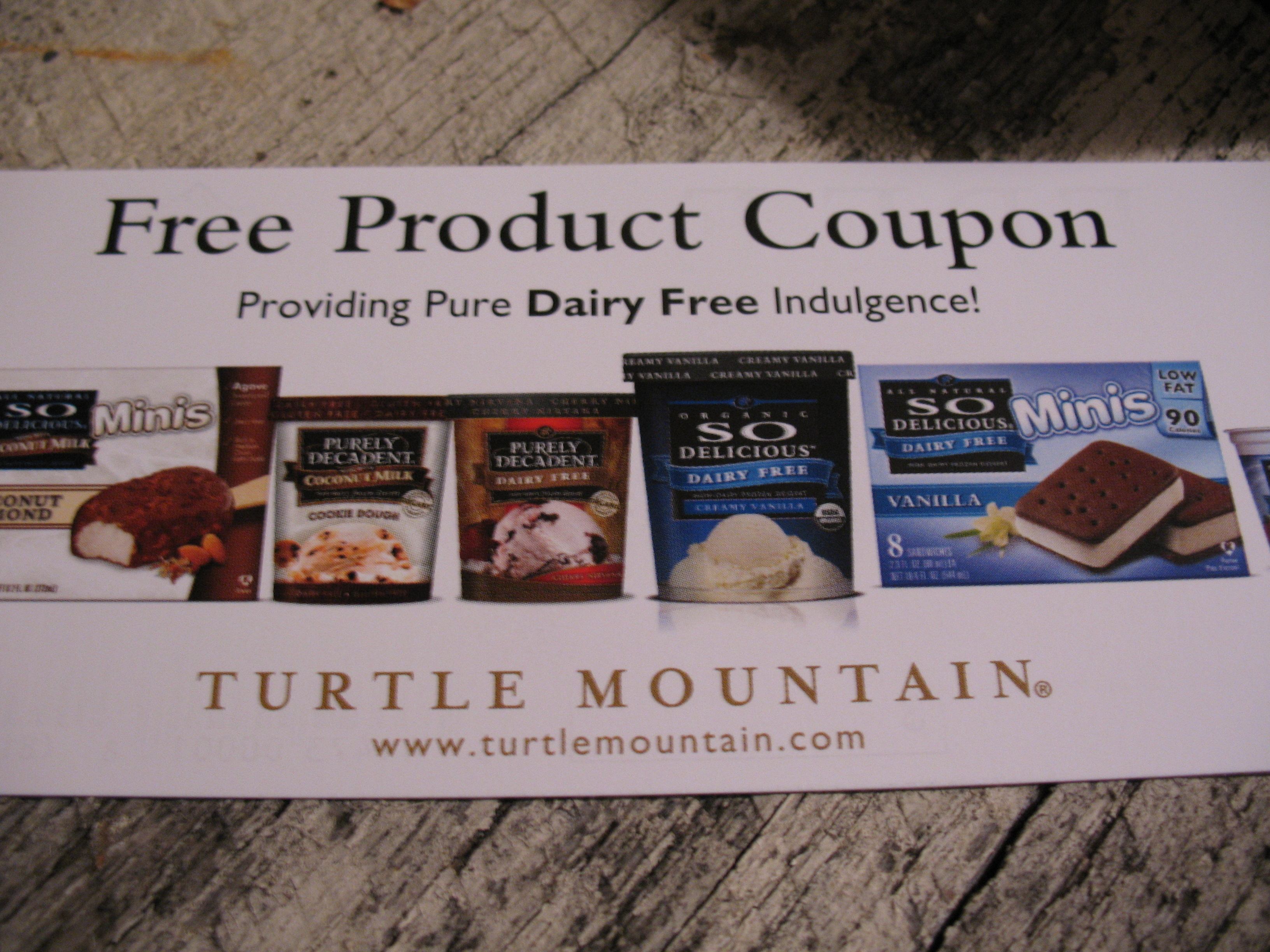 Free product coupons!