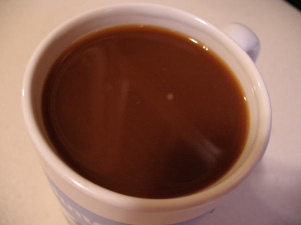 Coconut milk beverage in coffee = gag reflex.