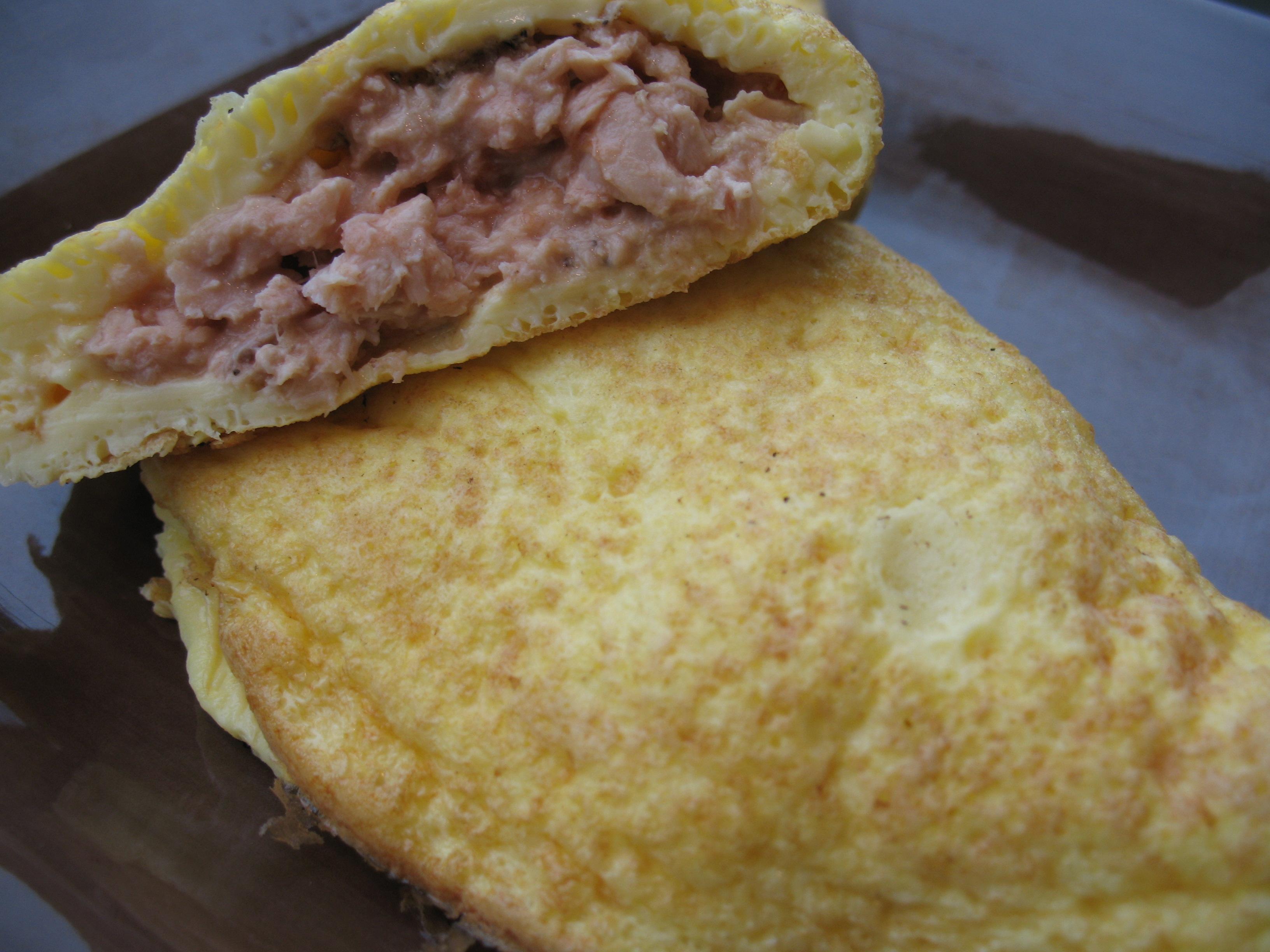 Omega 3 stuffed omelet