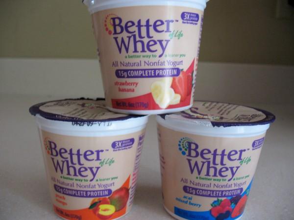 Better Whey of Life yogurt