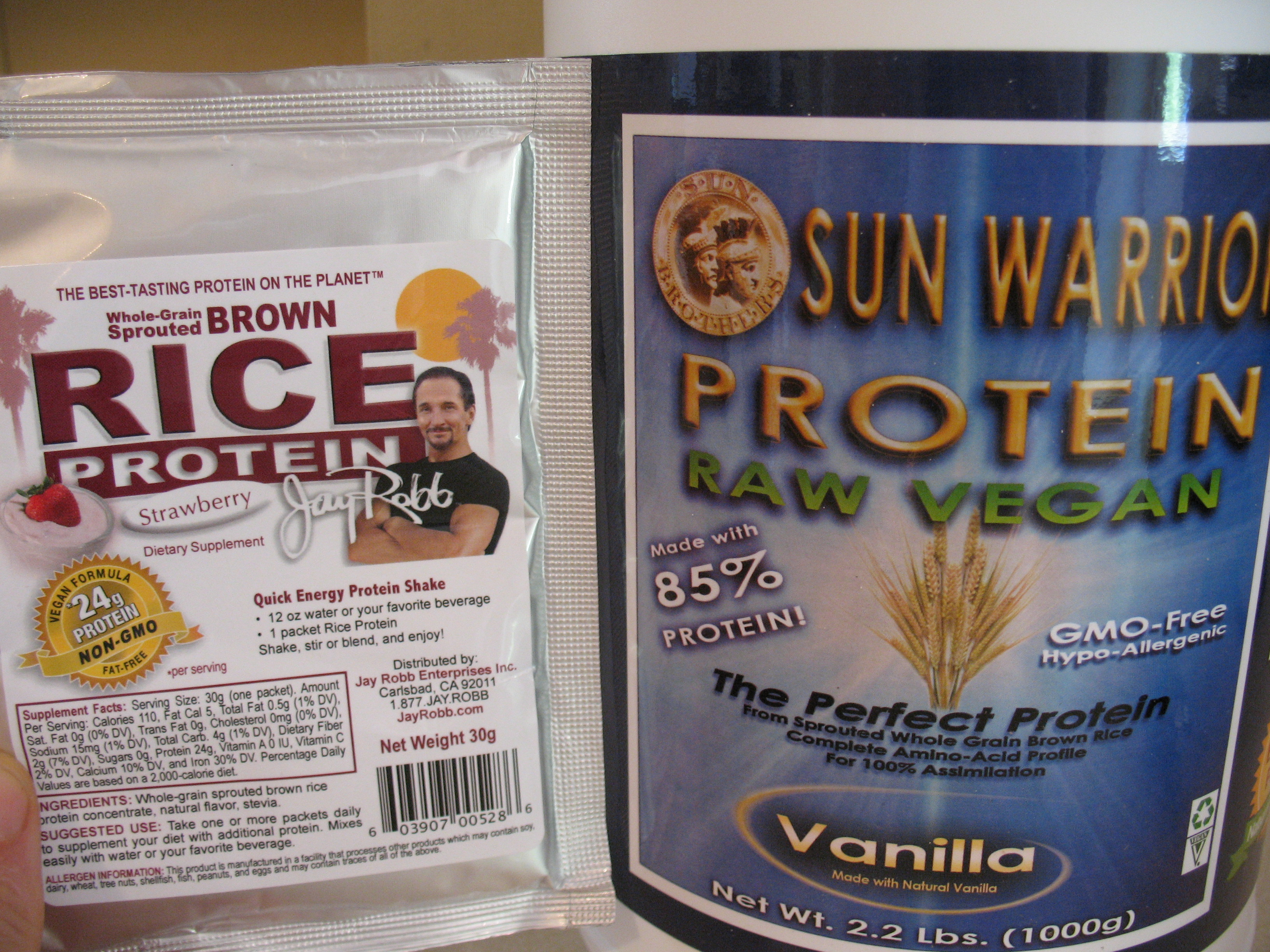 War of The Rice Protein Powders