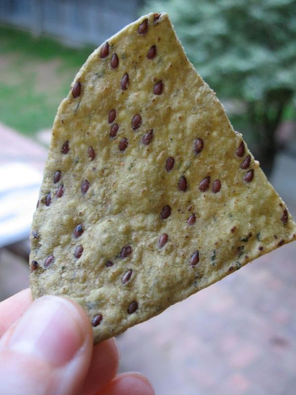 Trader Joe's Veggie Tortilla Chips with Flax