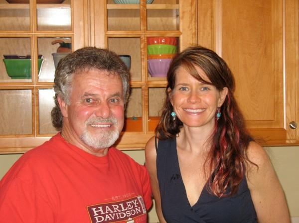 Me & my Papa. Mom, we missed you!