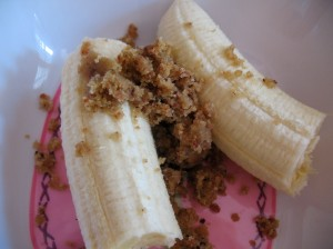 I totally overdid it on the bananas yesterday, but they're just so good!