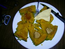 A kabocha filled dinner.