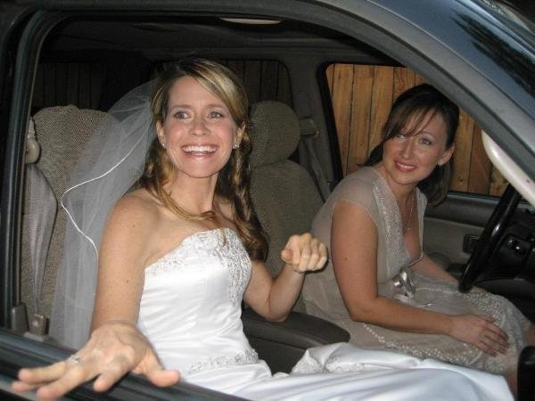 My wedding day - September 22, 2007.