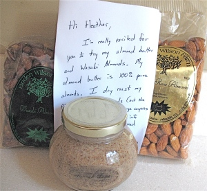 Loved the handwritten note - how's that for customer service!