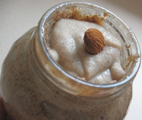 Oat bran in the jar.
