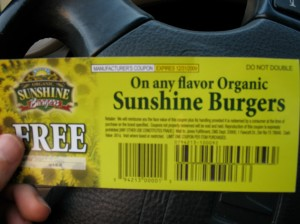 Sunshine Burgers are my favorite!