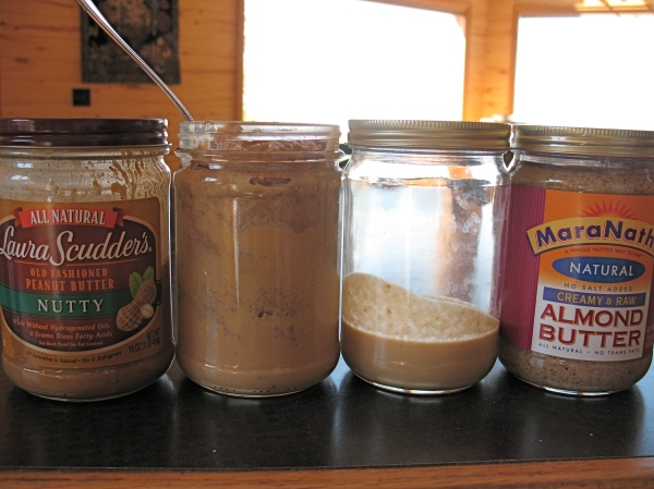 Yes, I broke down and bought some $11 almond butter...CD needs his almond butter Marinutta my friends. :)
