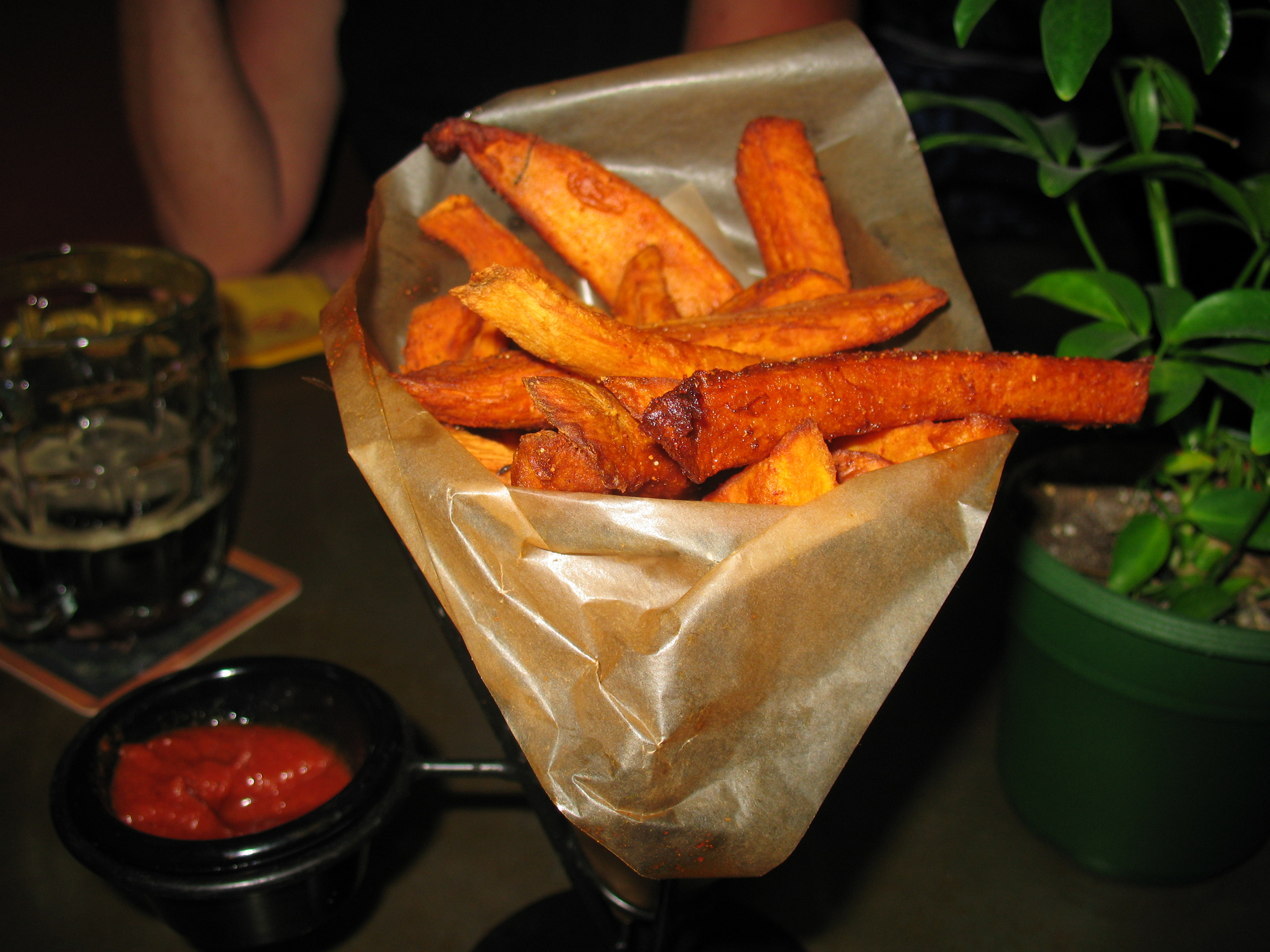 Best sweet potato fries ever.