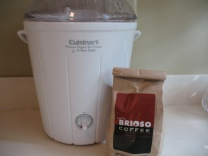 Our first ice-cream maker!!!!